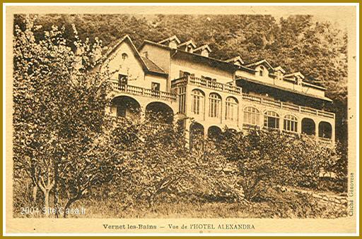 Gut gemocht Vernet-les-Bains. Hôtel Alexandra HM95