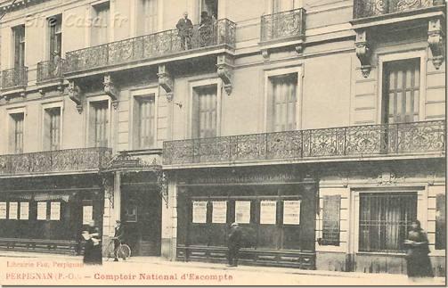Perpignan comptoir national d 39 escompte - Comptoir central d electricite perpignan ...